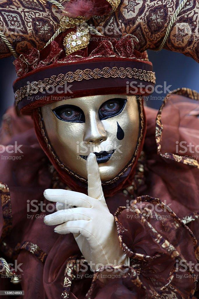 Court jester stock photo