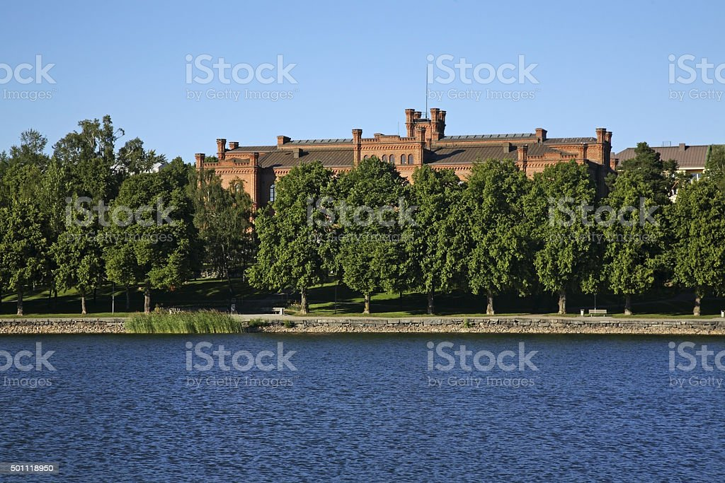 Court of Appeal in Vaasa. Finland stock photo