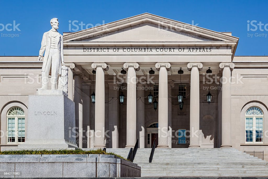 DC Court of Appeals stock photo