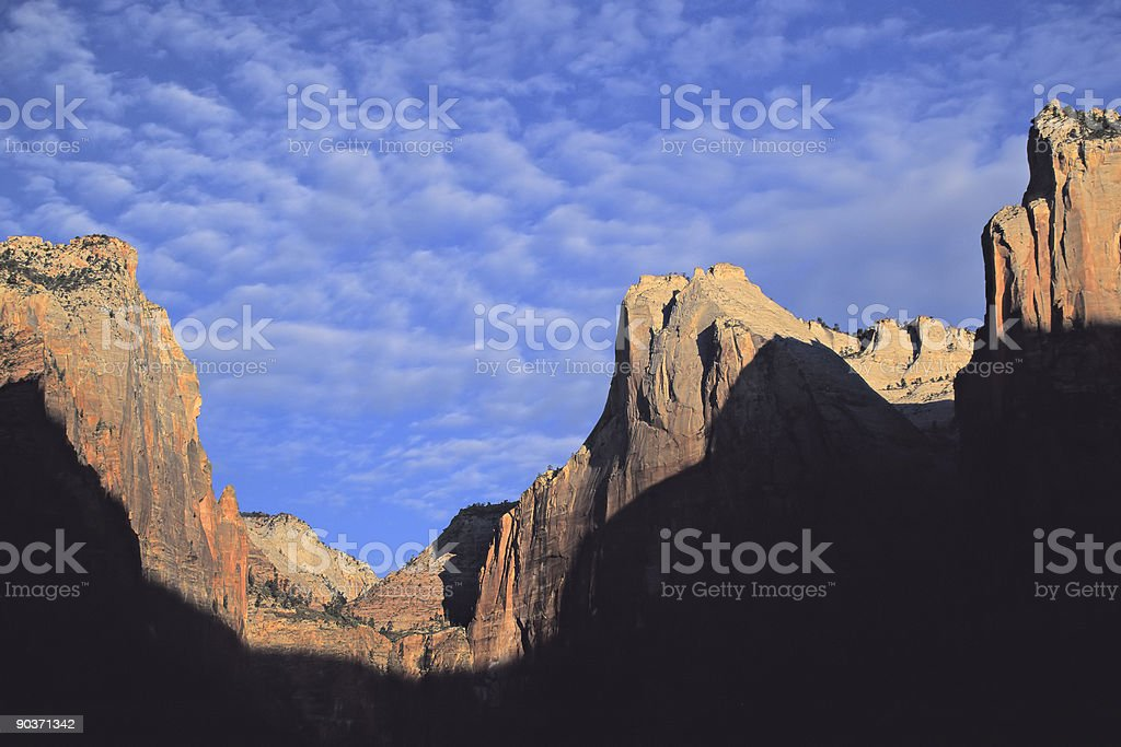 Court of the Patriarchs royalty-free stock photo