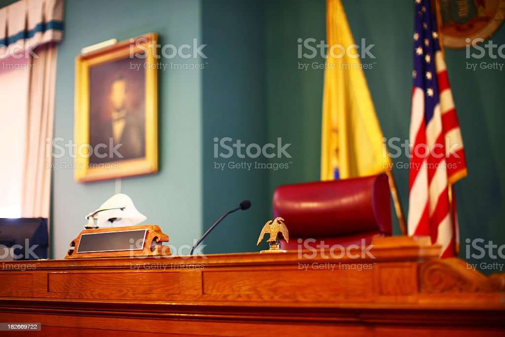 Court stock photo