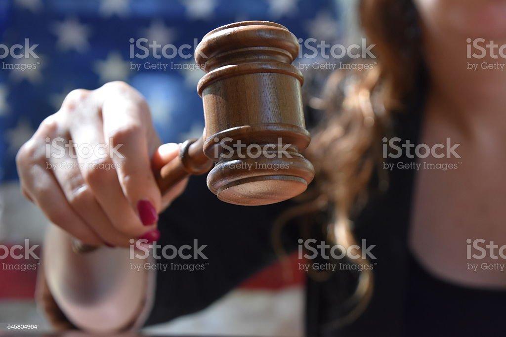 US court stock photo