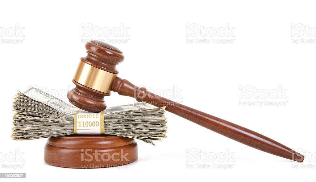 Court Settlement stock photo