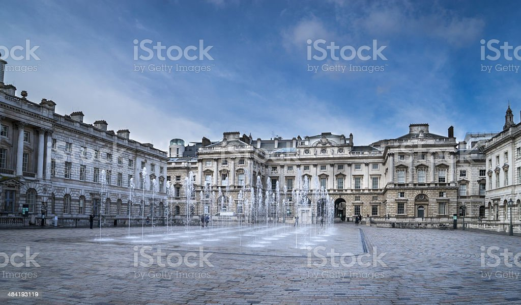 Courtaulds Institute and Gallery stock photo