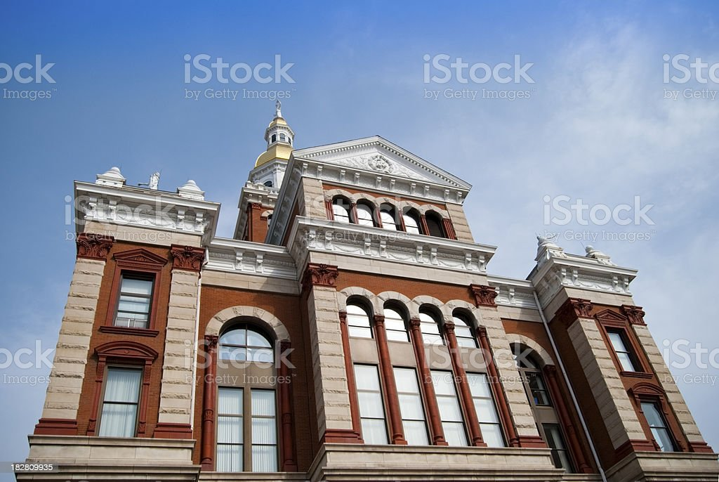 Courthouse Building royalty-free stock photo