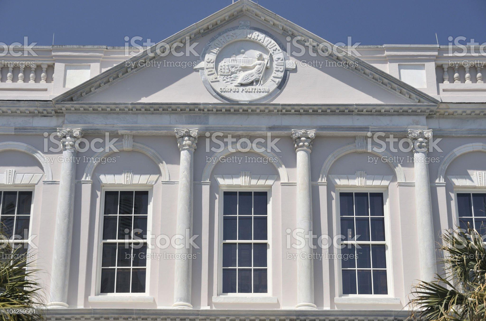 Courthouse, Charleston, South Carolina royalty-free stock photo