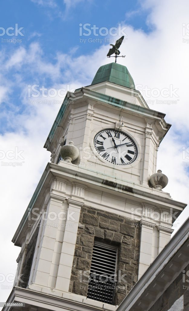 Courthouse Clock Tower stock photo