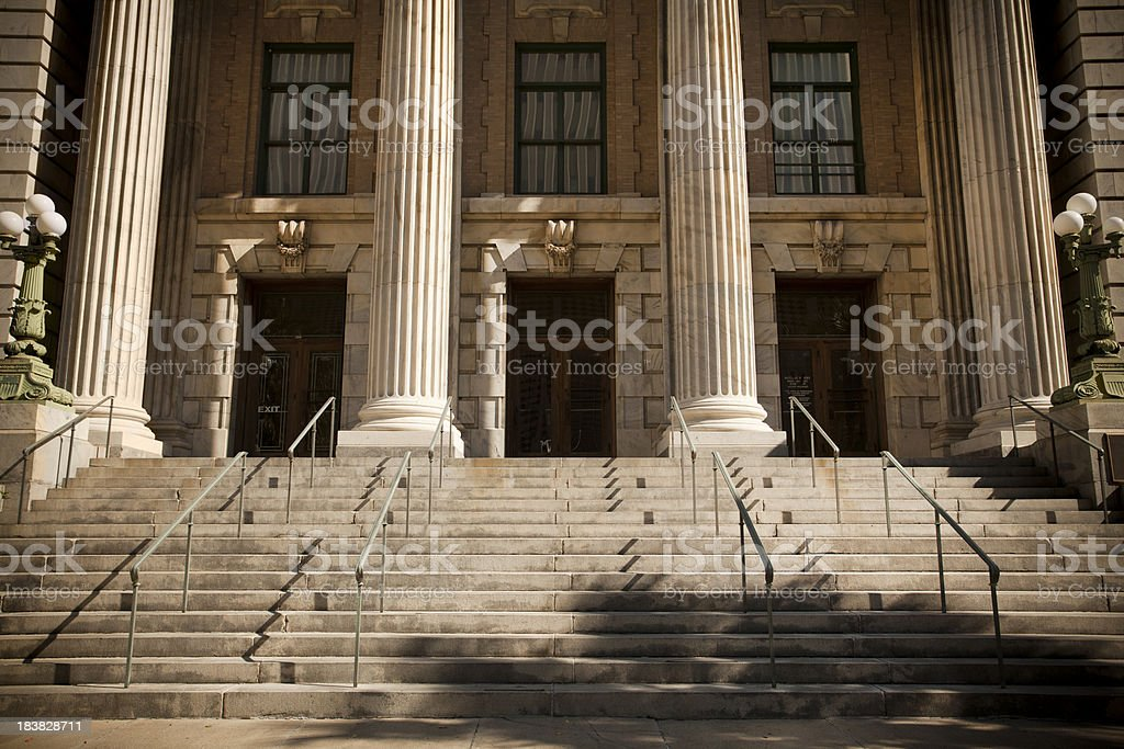 Courthouse in Tampa Bay Florida stock photo