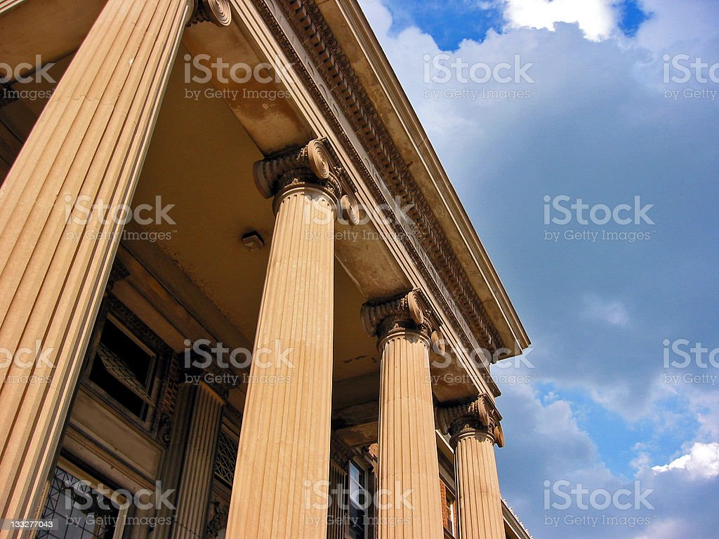 Courthouse royalty-free stock photo