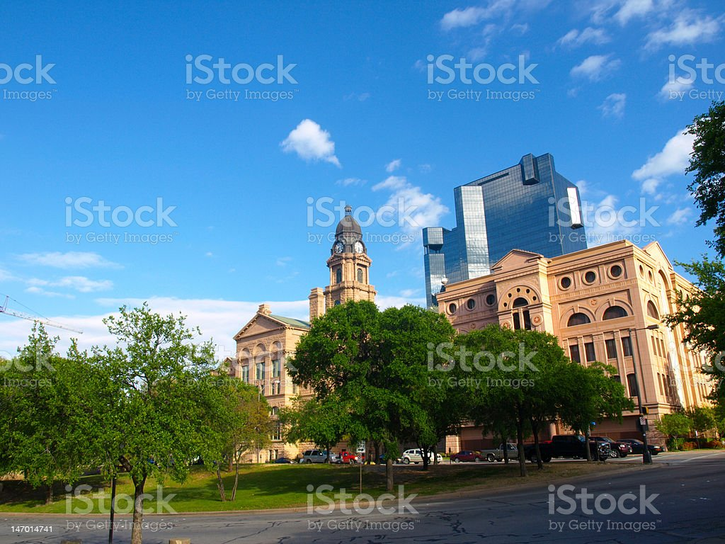 courthouse stock photo