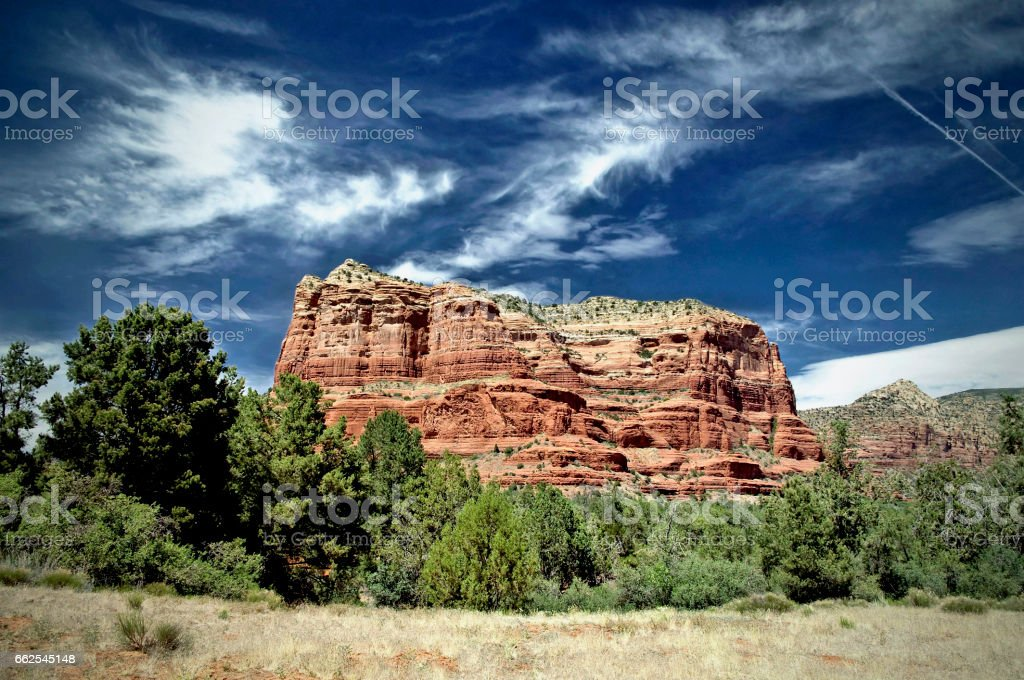 Courthouse Rock stock photo