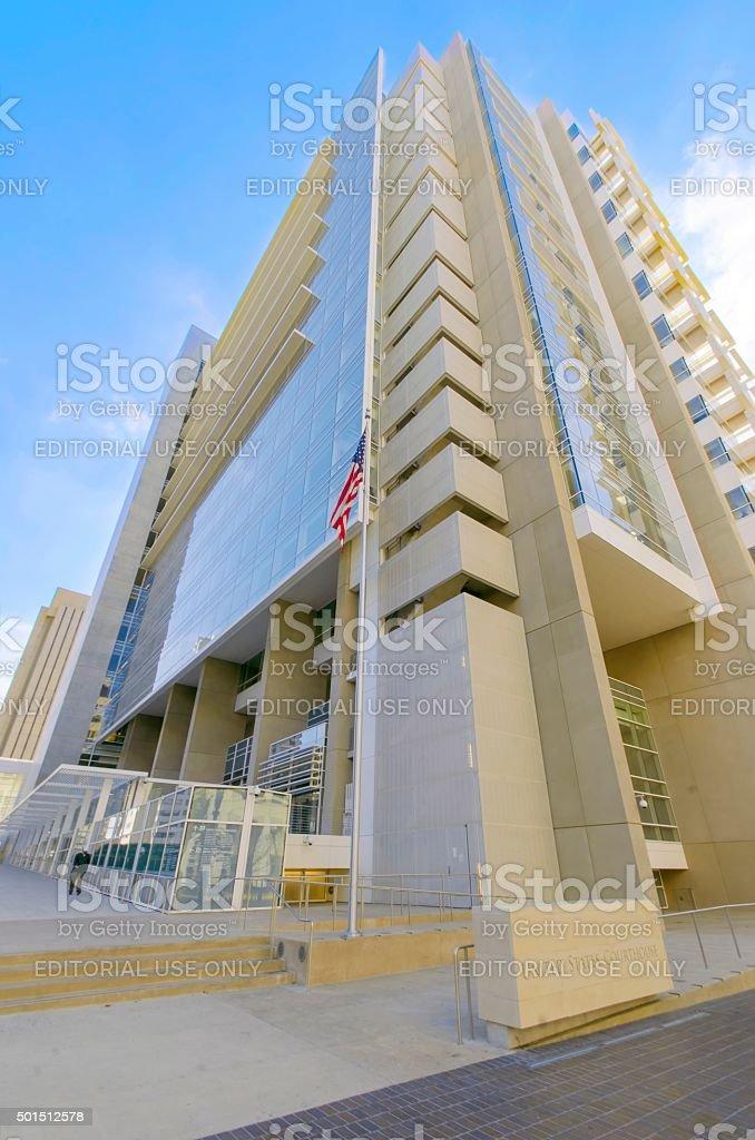 US Courthouse, San Diego stock photo