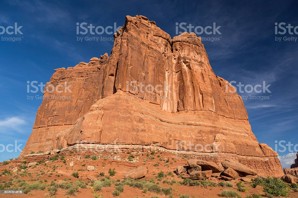Courthouse Towers Butte stock photo