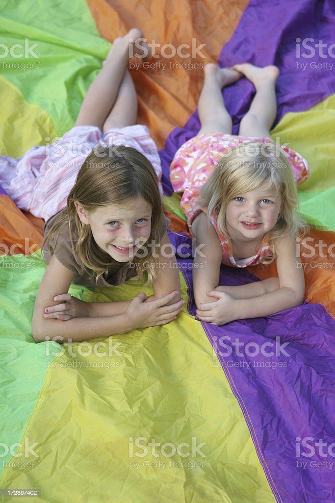 Cousins royalty-free stock photo