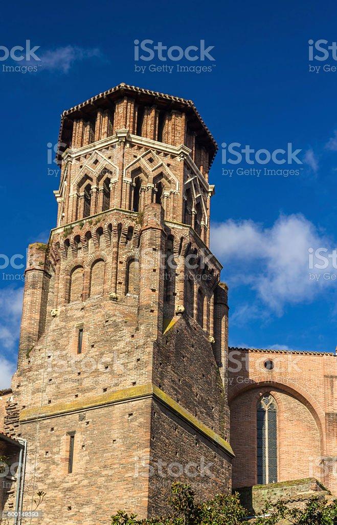 Couvent des Augustins de Toulouse - France stock photo