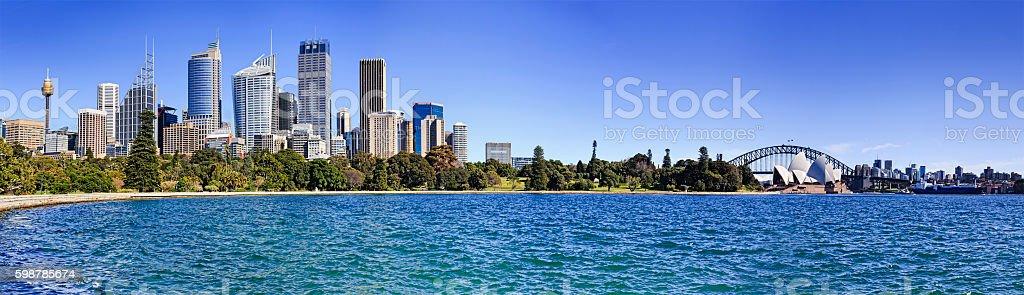 RGB CBD Cove 40mm Day panorama stock photo