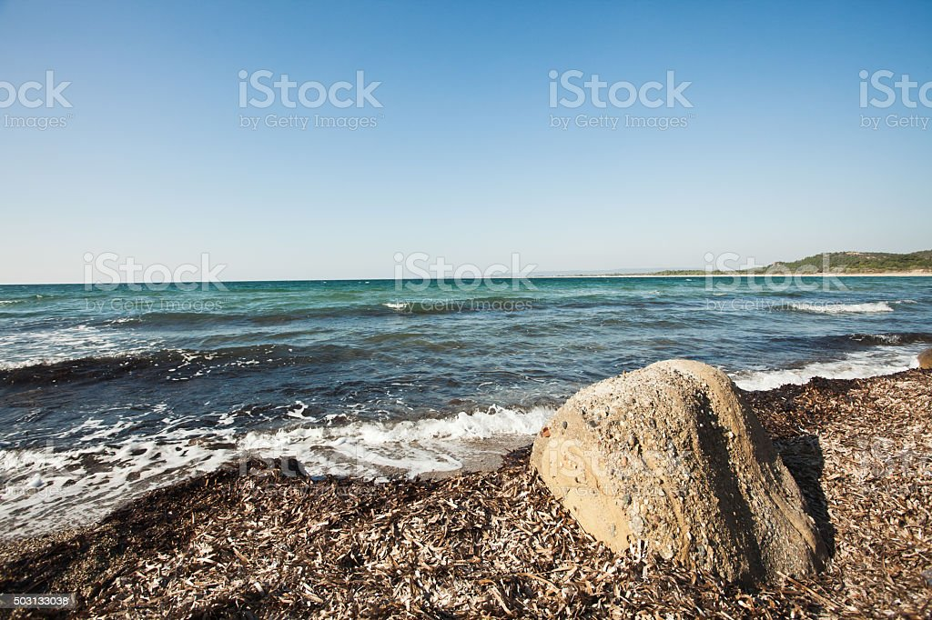 ANZAAC cove, Gelibolu / Galipoli peninsula, Turkey stock photo
