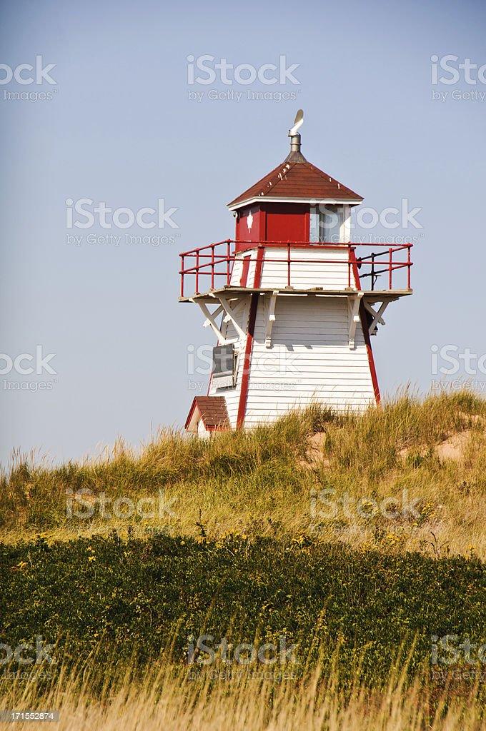 Covehead Harbor Light stock photo