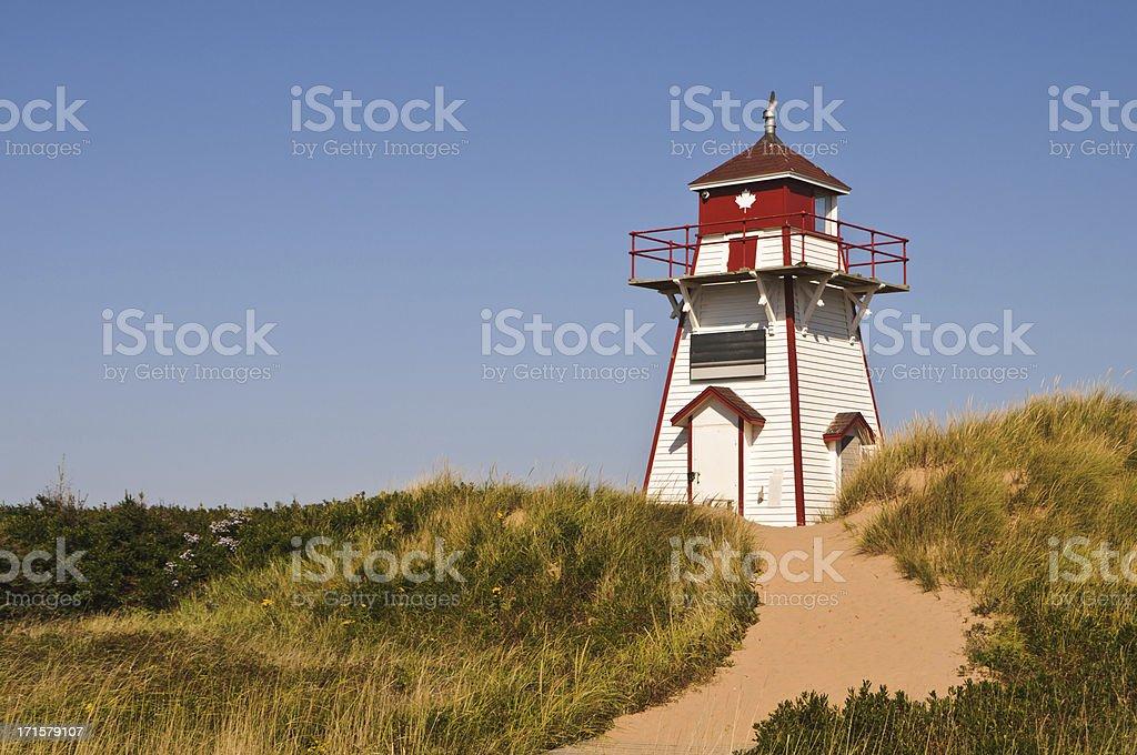Covehead Harbor Lighthouse stock photo