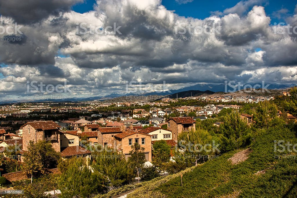 Covenant Hills - Ladera Ranch royalty-free stock photo