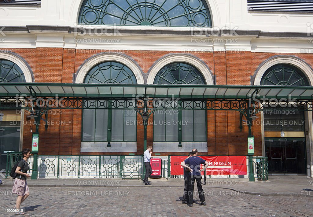 Covent Garden in London, England royalty-free stock photo
