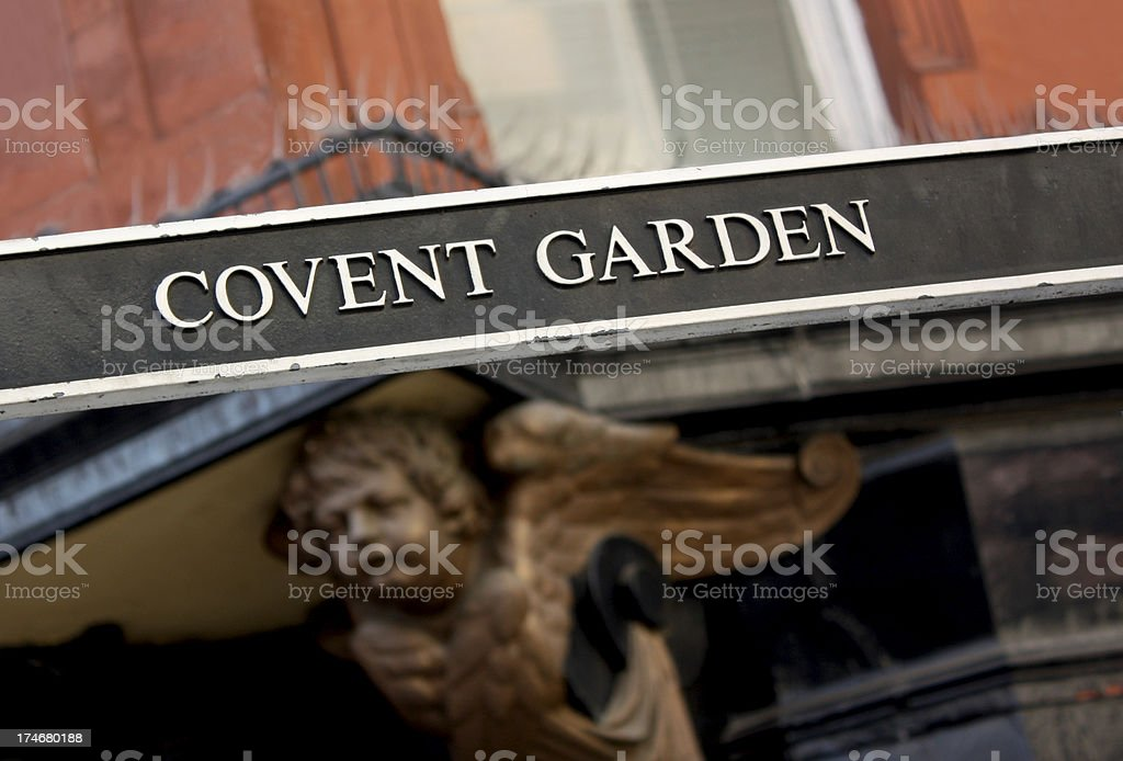 Covent Garden in London royalty-free stock photo