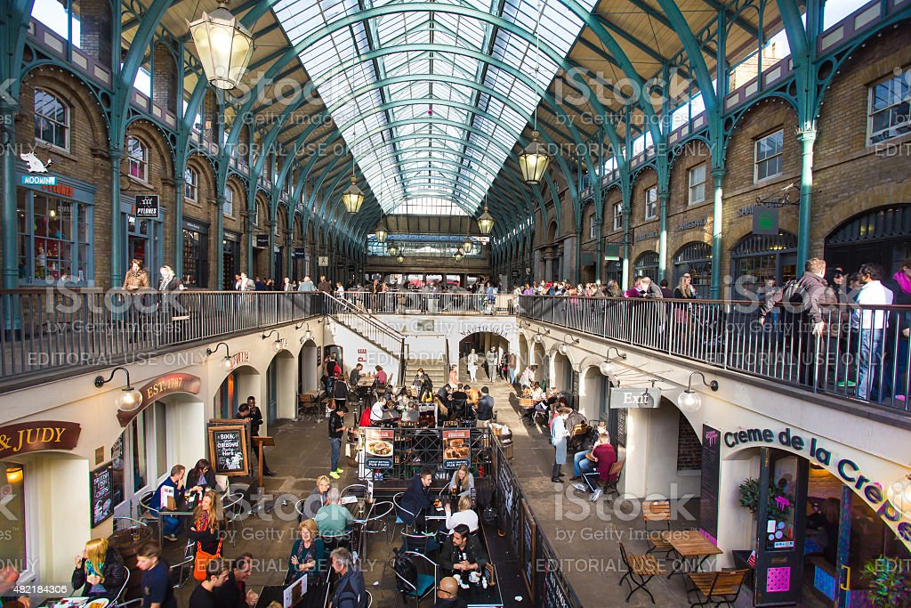 Covent Garden Market Building UK stock photo