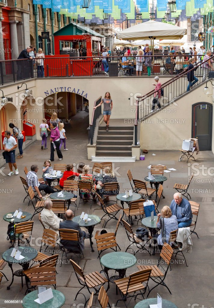 Covent Garden Market in London, United Kingdom stock photo