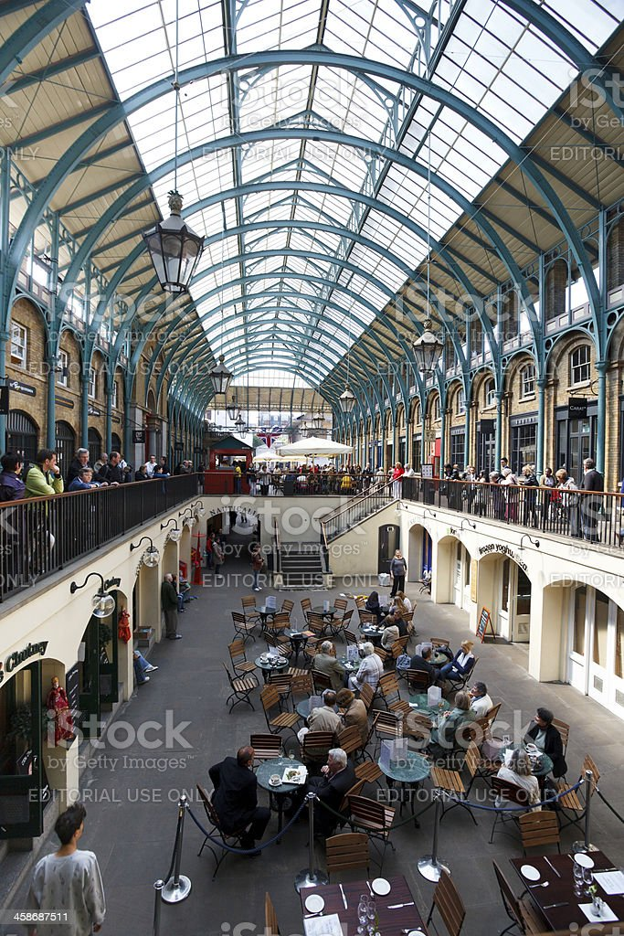 Covent Garden Market stock photo