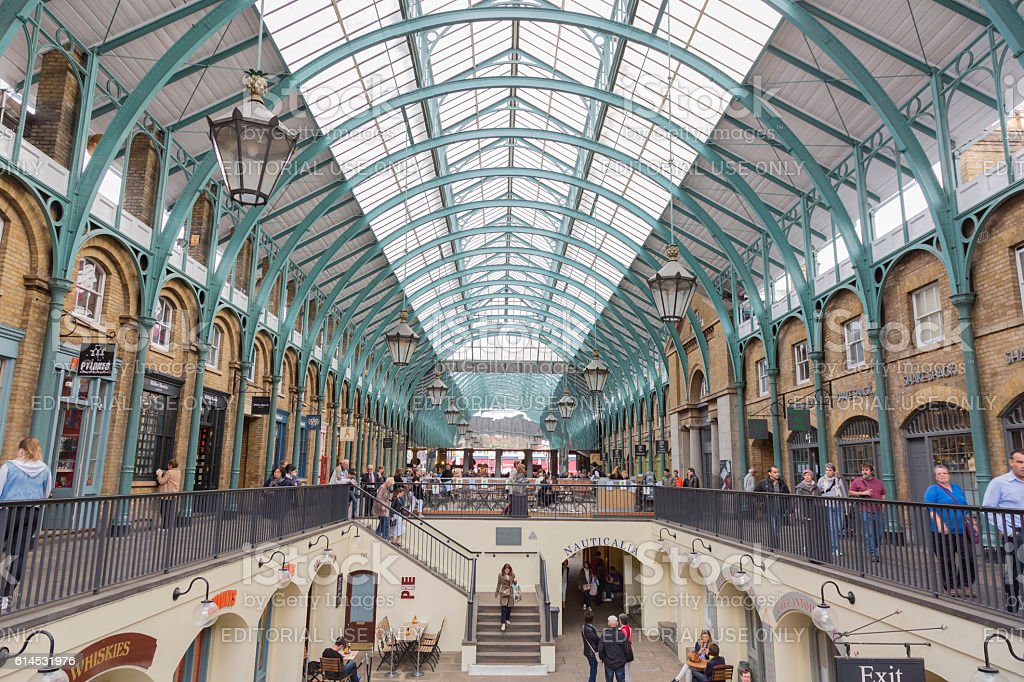 Covent Garden stock photo