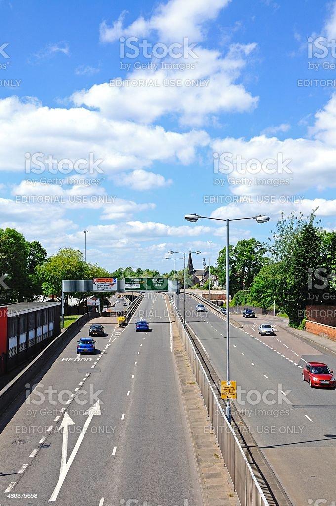 Coventry ringroad. stock photo