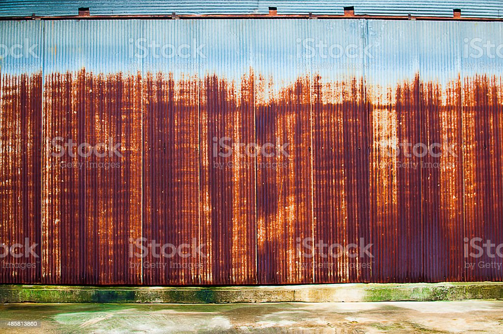 Cover and zinc stock photo