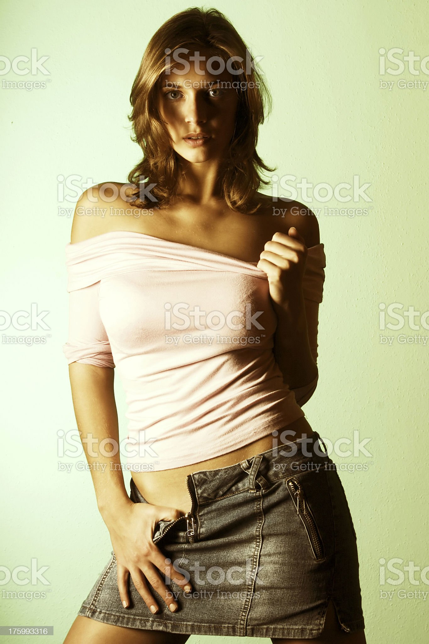 Cover girl 12 royalty-free stock photo