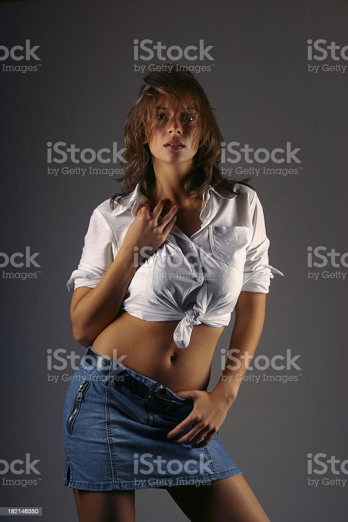 Cover girl 2 royalty-free stock photo