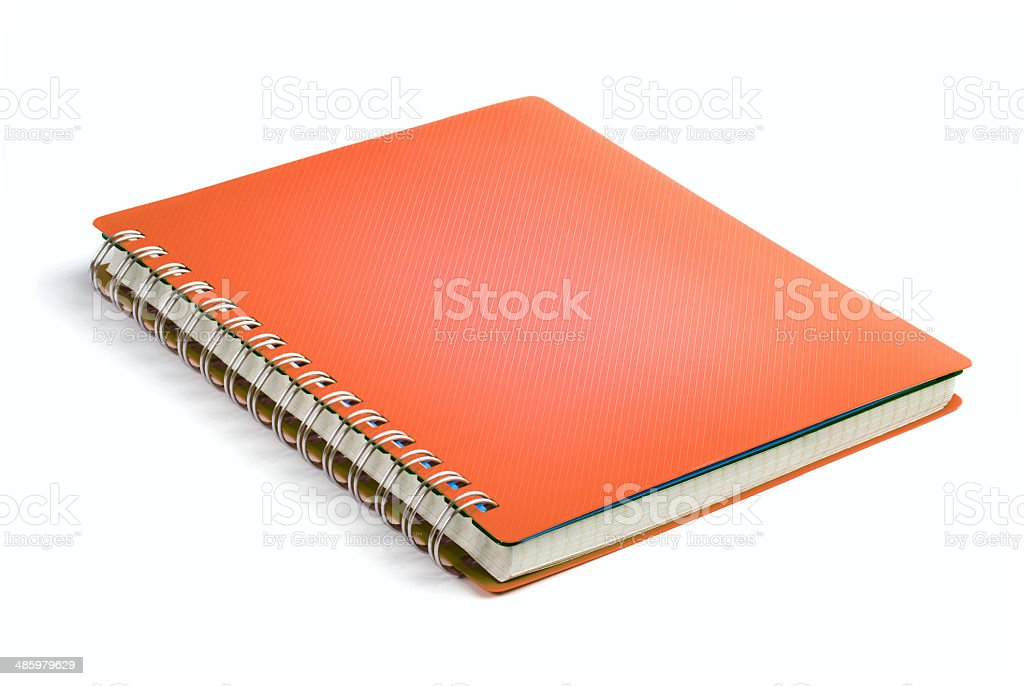 Cover Note Book stock photo
