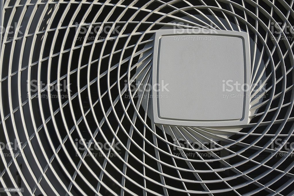 cover of air condenser stock photo