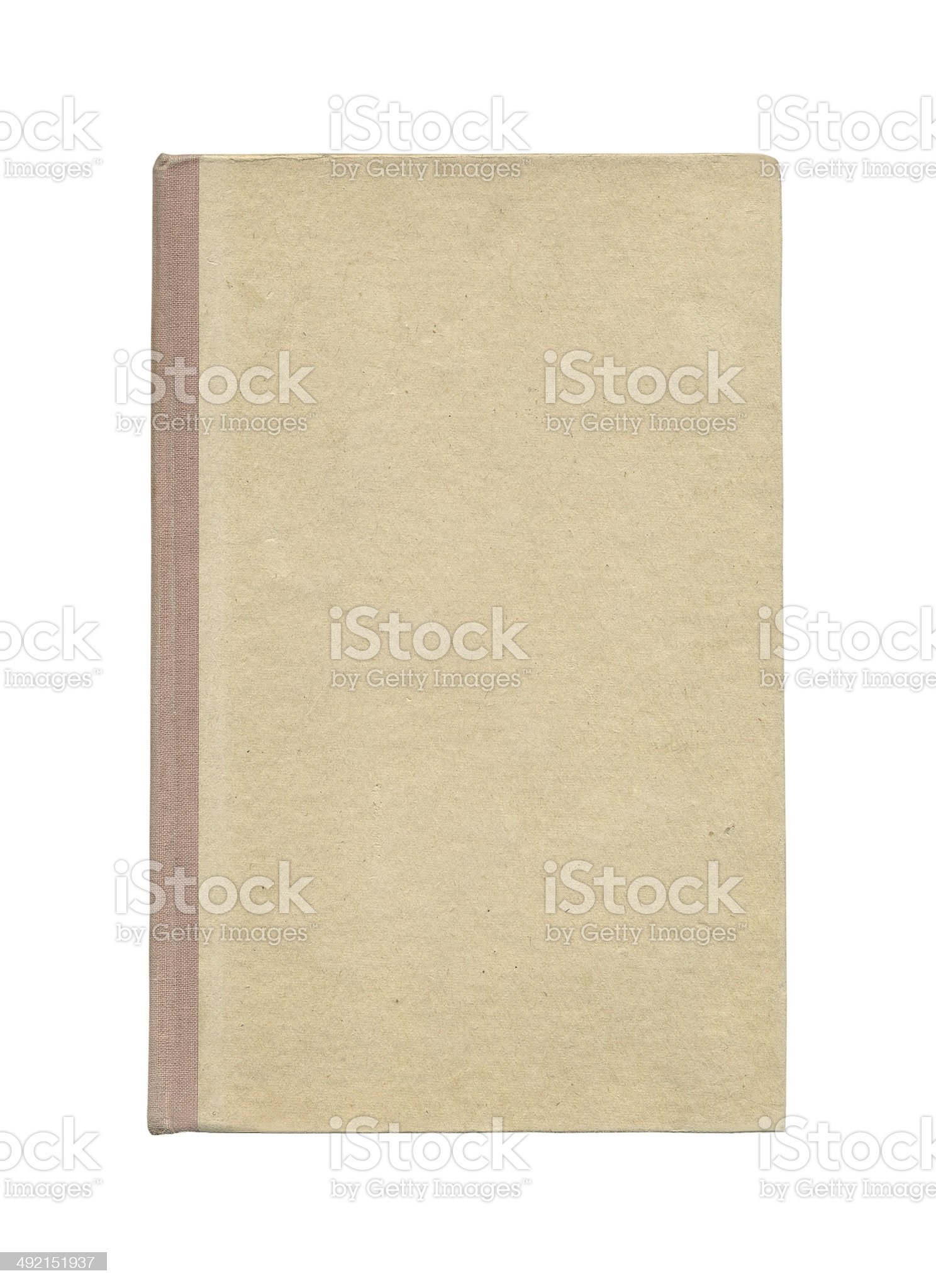 Cover of book royalty-free stock photo