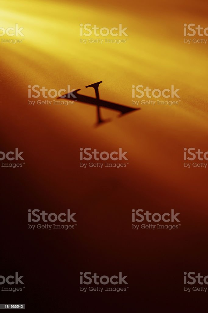Cover of the X files. royalty-free stock photo