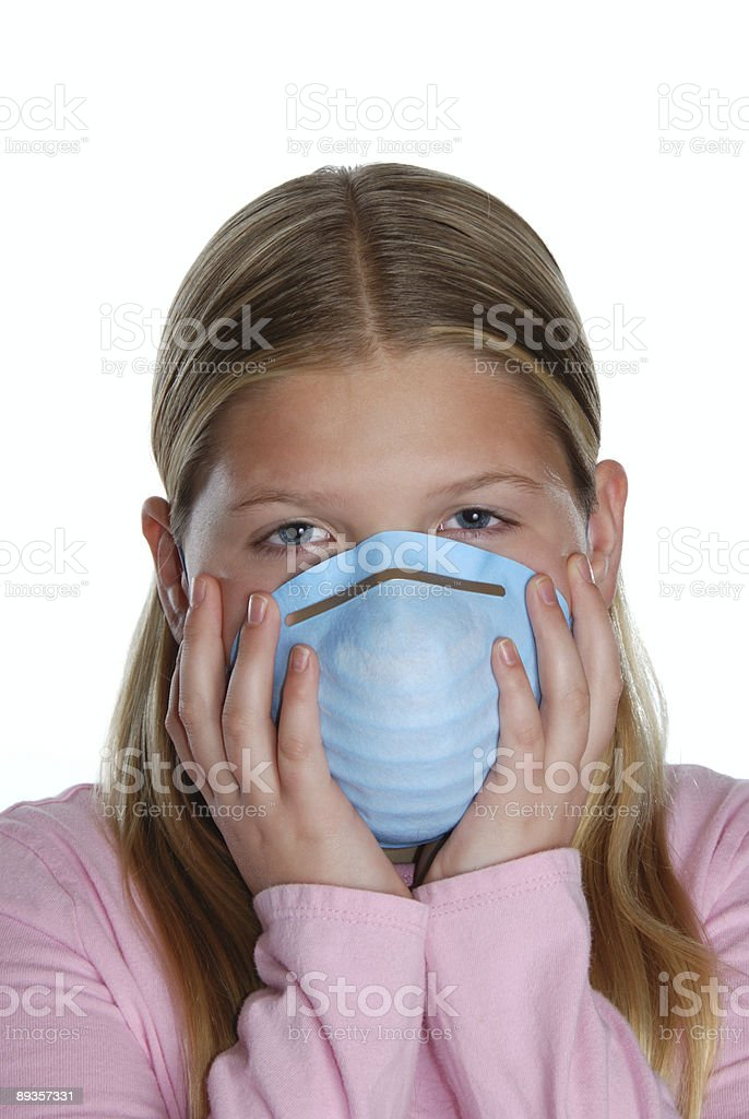 Cover Your Germs royalty-free stock photo