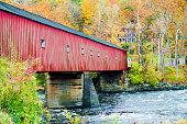 Covered Bridge at Fall