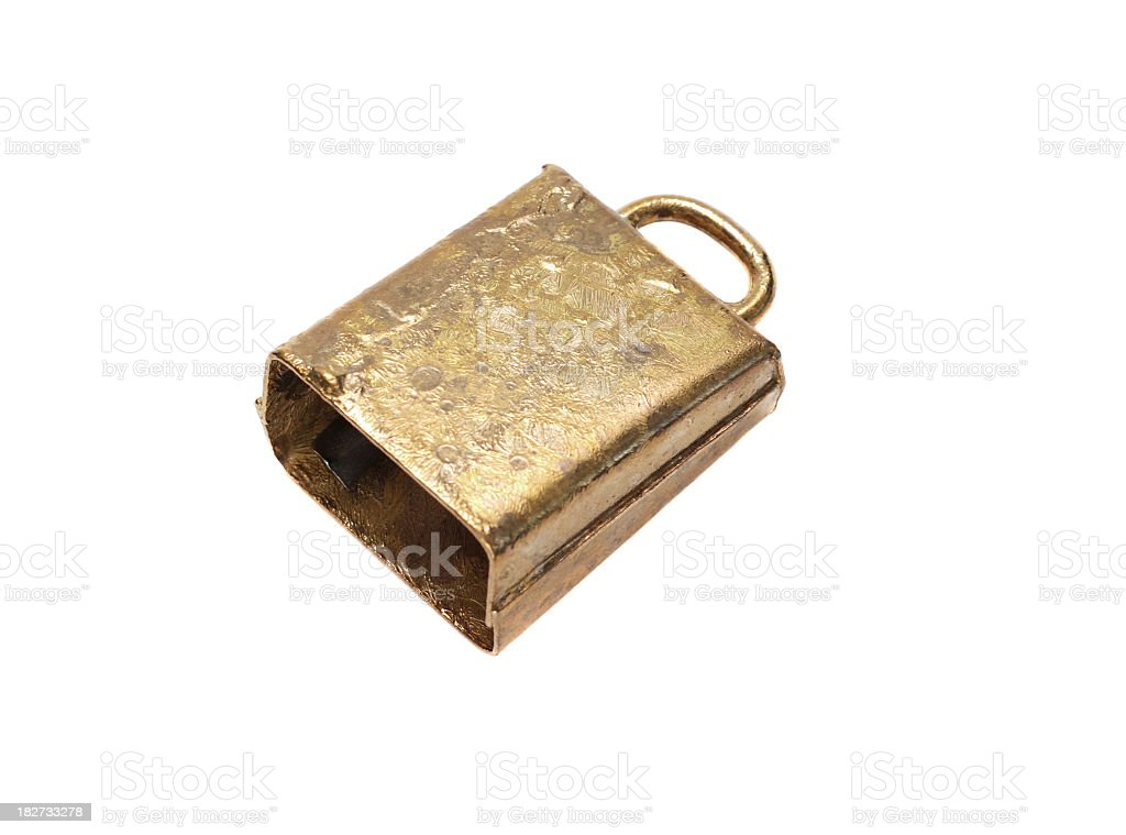 Cow Bell stock photo