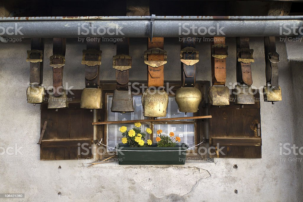 cow bells royalty-free stock photo