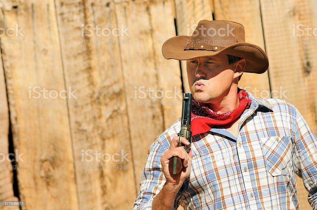 cow boy spirit royalty-free stock photo