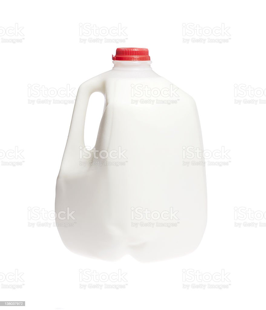 Cow milk stock photo
