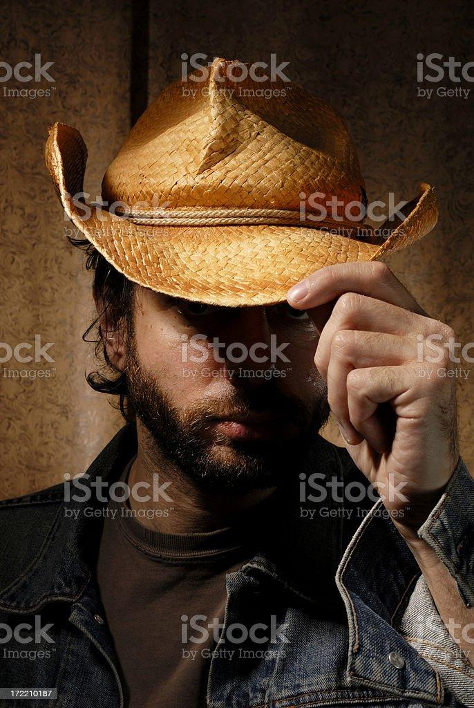 Cowboy 1 royalty-free stock photo