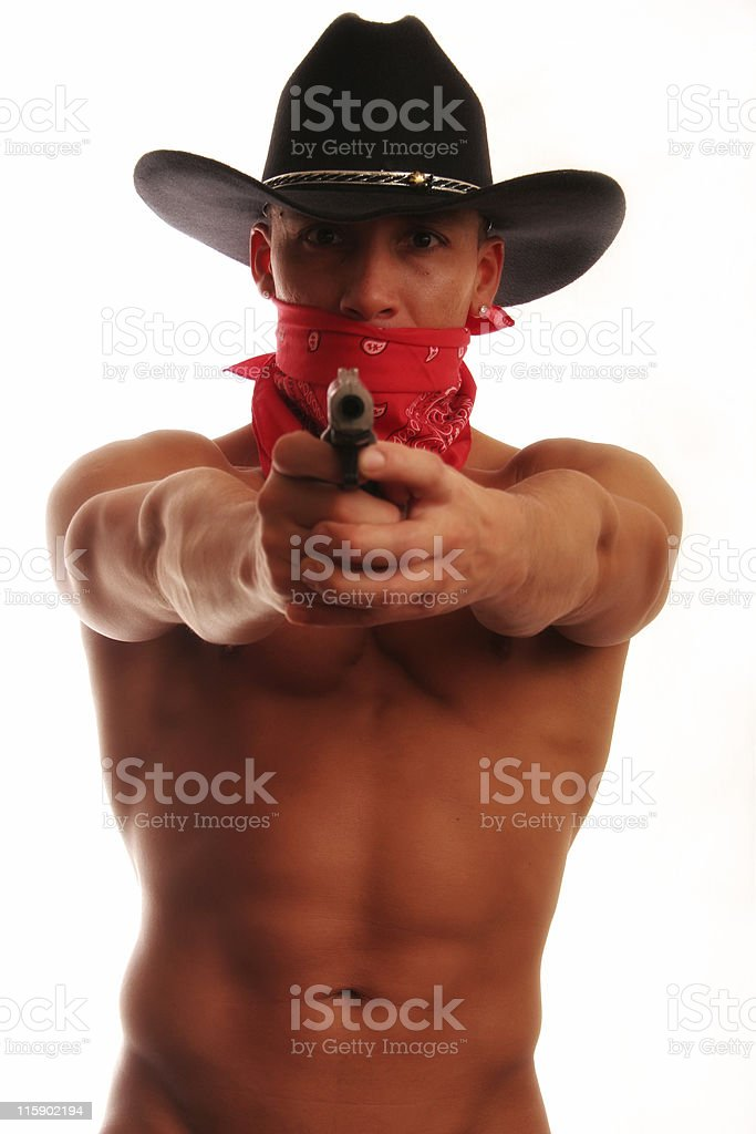 Cowboy Bandit royalty-free stock photo