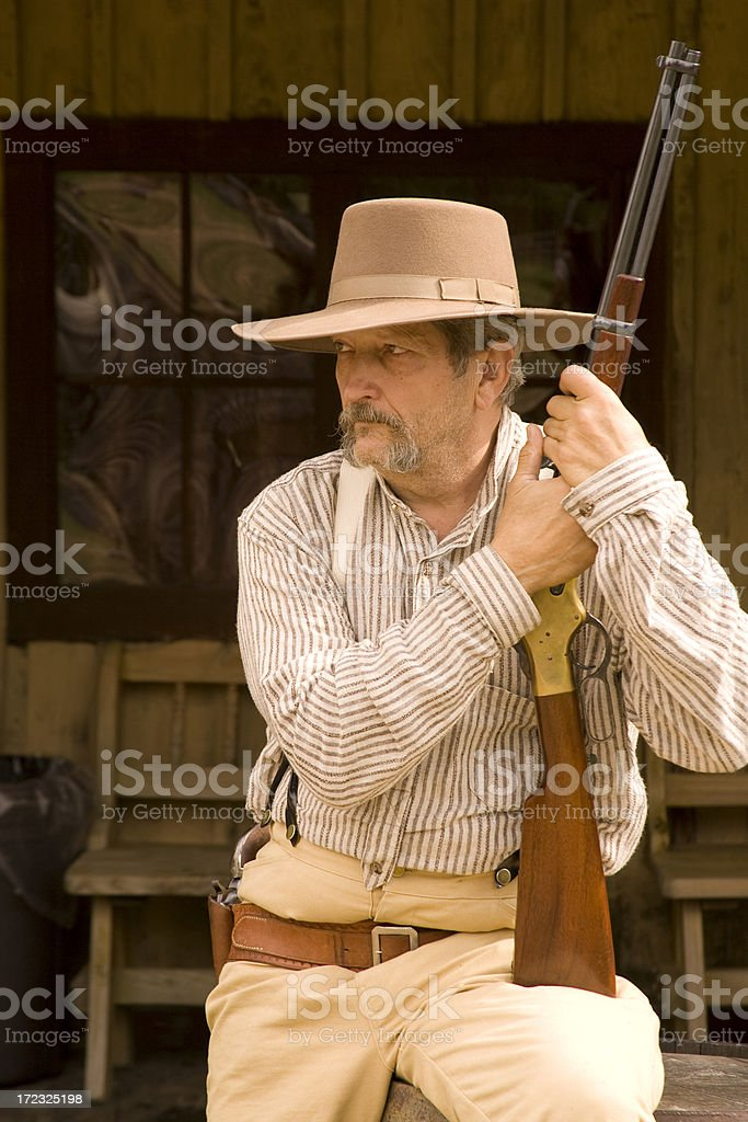 Cowboy Bob stock photo