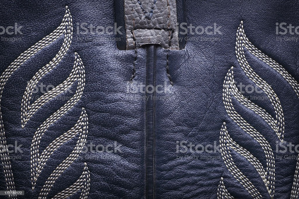 Cowboy Boot Close Up royalty-free stock photo