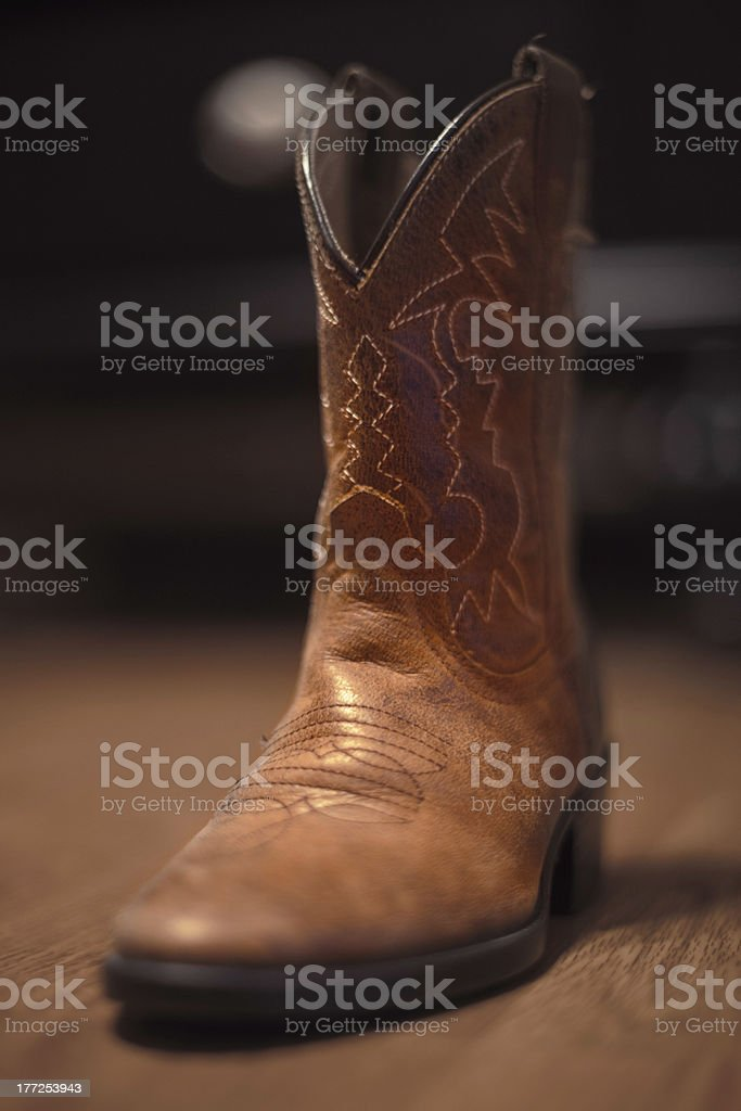Cowboy Boot royalty-free stock photo