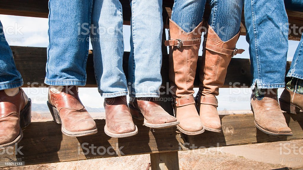 Cowboy Boots royalty-free stock photo